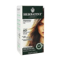 Herbatint Permanent Herbal Hair Color Gel 6D Dark Golden Blonde - 4.56 oz