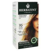 Herbatint permanent herbal haircolor gel #7D Golden Blonde - 4 oz