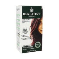 Herbatint permanent herbal haircolor gel#4M Mahogany Chestnut, 4.56 oz
