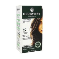 Herbatint permanent herbal haircolor gel with aloe vera #4C Ash Chestnut - 4.56 oz