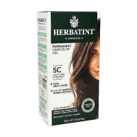 Herbatint permanent herbal haircolor gel #5C Light Ash Chestnut - 4.56 oz