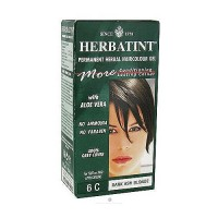 Herbatint permanent herbal haircolor gel #6C Dark Ash Blonde - 4.56 oz