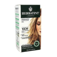 Herbatint permanent herbal haircolor gel #10DR Light Copperish Gold- 4.56 oz