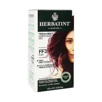 Herbatint Flash Fashion permanent herbal hair color gel #FF3 Plum - 4.5 oz