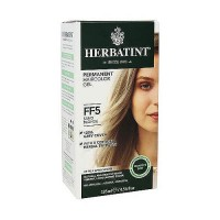 Herbatint Flash Fashion permanent herbal hair color gel FF5 Sand Blonde - 4.56 oz