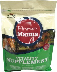 Manna Pro-Equine horse-manna vitality supplement for horses - 11.25 pound, 4 ea