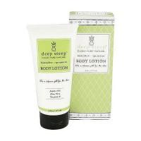 Deep steep organic soy body lotion, honey dew and spearmint - 6 oz
