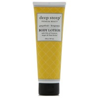 Deep steep body lotion, Grapefruit, bergamot - 8 oz