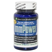 American BioSciences Immpower AHCC 500mg capsules - 30 ea
