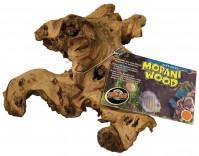 Zoo Med Laboratories Inc natural mopani wood for aquariums - 10-12 in/medium, 18 ea