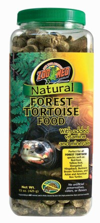 Zoo Med Laboratories Inc natural forest tortoise food - 15 ounce, 24 ea