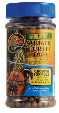Zoo Med Laboratories Inc natural aquatic turtle food growth formula - 30 ounce, 12 ea