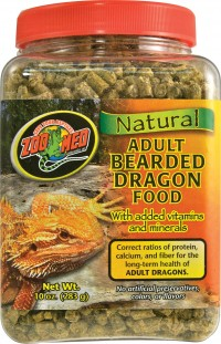 Zoo Med Laboratories Inc natural adult bearded dragon food - 10 ounce, 36 ea