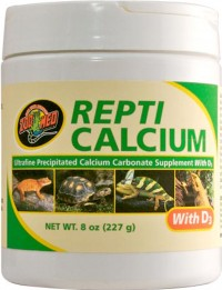 Zoo Med Laboratories Inc repticalcium with d3 - 8 ounce, 12 ea