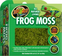 Zoo Med Laboratories Inc all natural living frog moss - 80 cubic inch, 48 ea