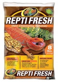 Zoo Med Laboratories Inc reptifresh odor eliminating substrate - 8 pound, 3 ea