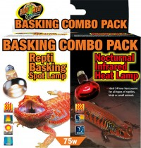 Zoo Med Laboratories Inc day and night reptile basking combo pack - 75 watt, 6 ea