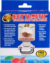 Zoo Med Laboratories Inc bettamatic automatic daily betta feeder - 24 ea