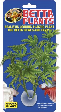 Zoo Med Laboratories Inc betta plastic plant papaya - 144 ea
