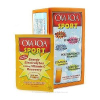 Ola Loa sport effervescent vitamin drink mix, Mango Tangerine - 30 packets