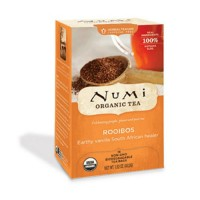Herbal teasan numi organic tea caffeine free rooibos - 1.52 oz, 6 pack