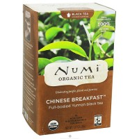 Numi Organic Black Tea Chinese Breakfast - 18 Tea Bags
