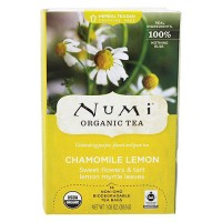 Numi Organic Herbal Tea, Chamomile Lemon - 18 Tea Bags