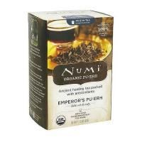 Numi Organic Pu-erh Tea Emperors, With anti oxidants - 16 Tea Bags, 6 pack