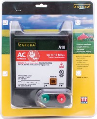Woodstream Zareba zareba ac low impedance electric fence charger - 10 mile, 2 ea