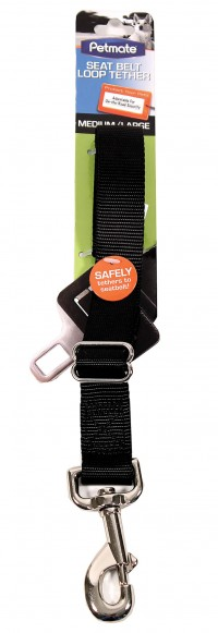 Petmate Inc - Carriers seat belt loop tether for dogs - medium/large, 24 ea