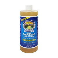 Dr.Woods All Natural Pure Peppermint Castile Soap - 32 oz