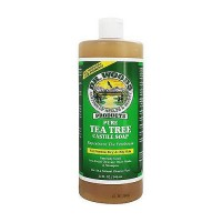 Dr.Woods Pure Castile Tea Tree Soap - 32 oz