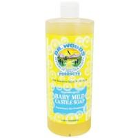 Dr. Woods castile soap baby mild - 32 oz