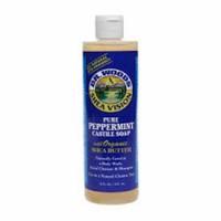 Dr. Woods shea vision pure peppemint castile soap - 16 oz
