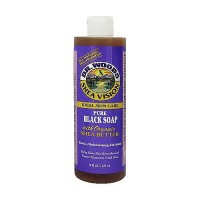 Dr.Woods Shea Vision Pure Black Soap with Organic Shea Butter - 16 oz