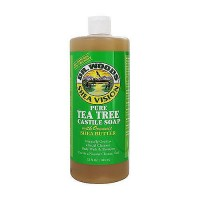 Dr.Woods Shea Vision Pure Tea Tree Castile Soap - 32 oz