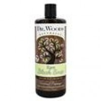 Dr. Woods Raw Black Soap Gentle Moisturizing Exfoliant Coconut Papaya - 32 oz