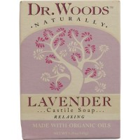 Dr. Woods naturally castile bar soap lavender - 5.25 oz
