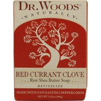 Dr. Woods naturally bar soap red currant clove - 5.25 oz