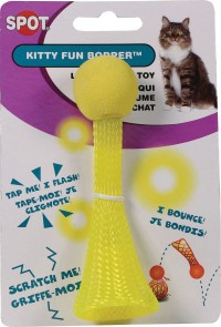Ethical Cat kitty fun bopper light-up cat toy - 4 inch, 48 ea