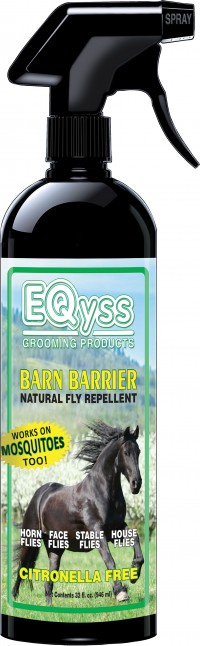Eqyss Grooming Products D barn barrier natural fly repellent - 1 quart, 12 ea