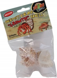 Zoo Med Laboratories Inc hermit crab growth shell - medium/2 pack, 24 ea