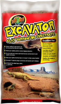 Zoo Med Laboratories Inc excavator clay burrowing substrate - 20 pound, 2 ea
