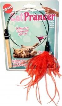 Ethical Cat cat prancer color teaser wand - 44 inch, 48 ea