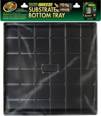 Zoo Med Laboratories Inc nano breeze substrate bottom tray - 10x10x1, 12 ea
