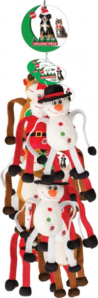 Ethical Christmas holiday stretch n pull assortment  out-season 0802 - 13 inch, 48 ea