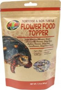 Zoo Med Laboratories Inc tortoise & box turtle flower food topper - 1.4 oz, 1 ea