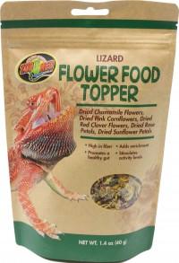 Zoo Med Laboratories Inc lizard flower food topper - 1.4 oz, 1 ea