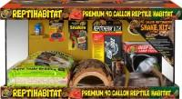 Zoo Med Laboratories Inc reptihabitat snake  kit - 40 gallon, 1 ea