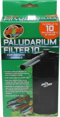 Zoo Med Laboratories Inc paludarium filter - 10 gal, 12 ea